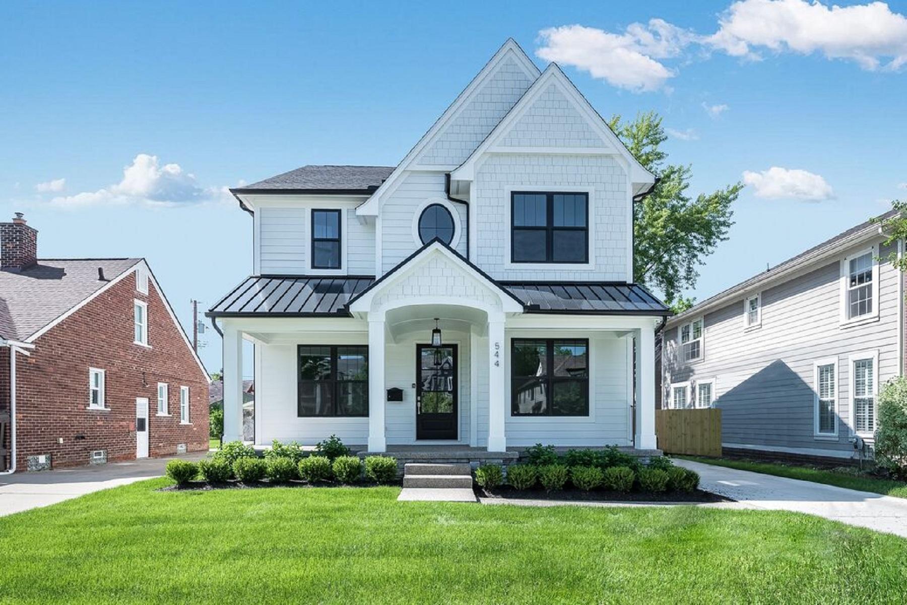 Single Family Homes for Active at Birmingham 544 Catalpa Street Birmingham, Michigan 48009 United States