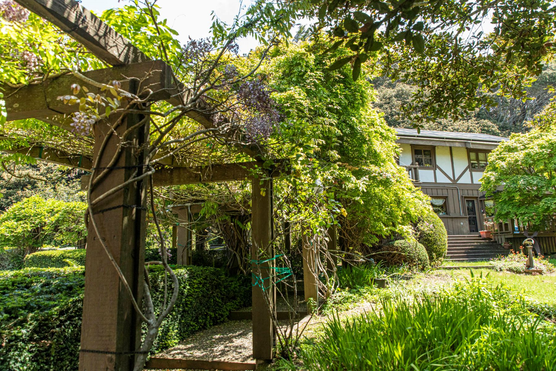 Single Family Homes for Sale at Maybeck Style Estate with Two Storybook Cottages 16651 Brookfield Drive Fort Bragg, California 95437 United States