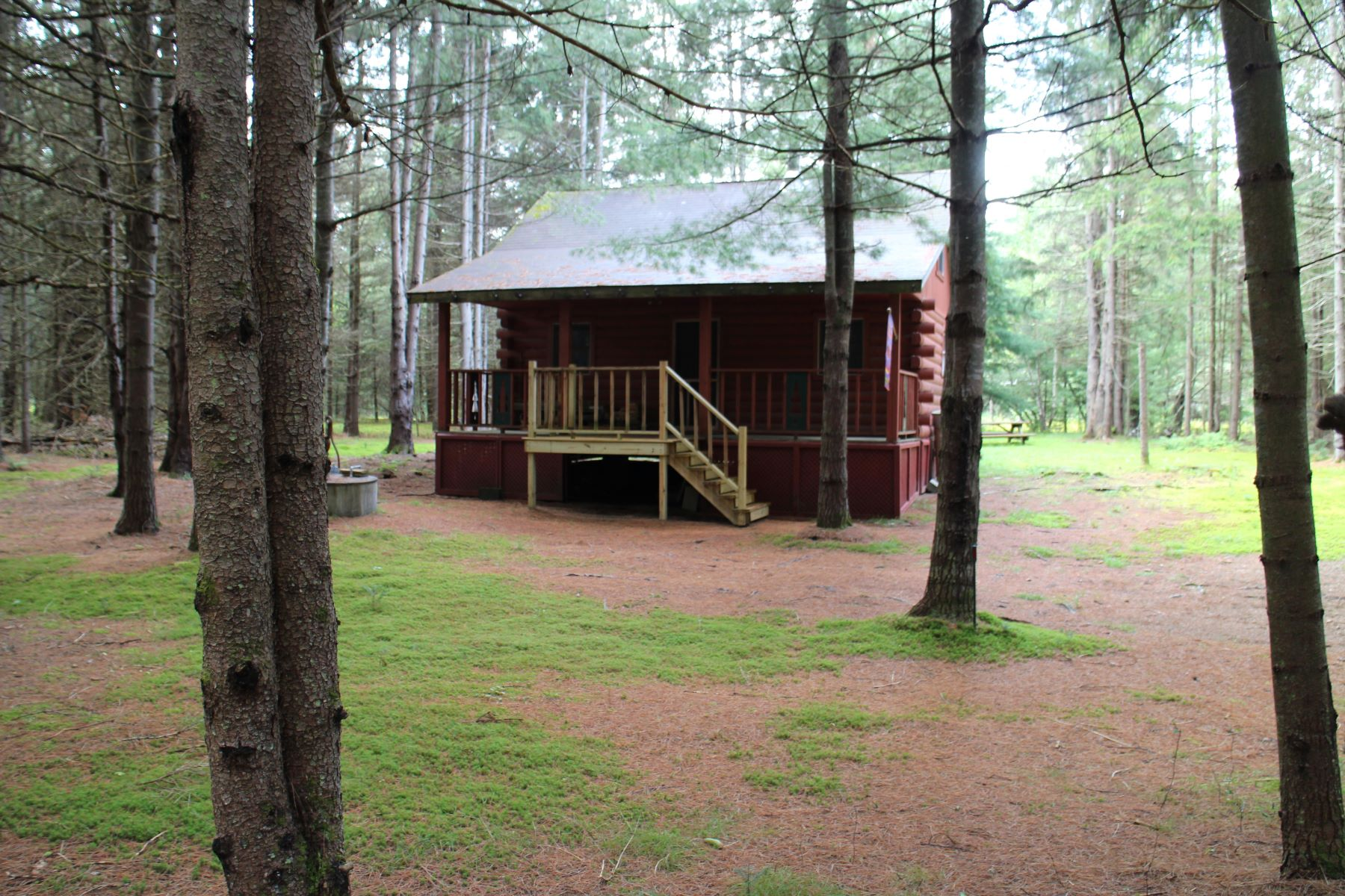 Single Family Home for Sale at Log camp in Snowbird Lake area 12486 Meekerville Rd. North Forestport, New York 13338 United States