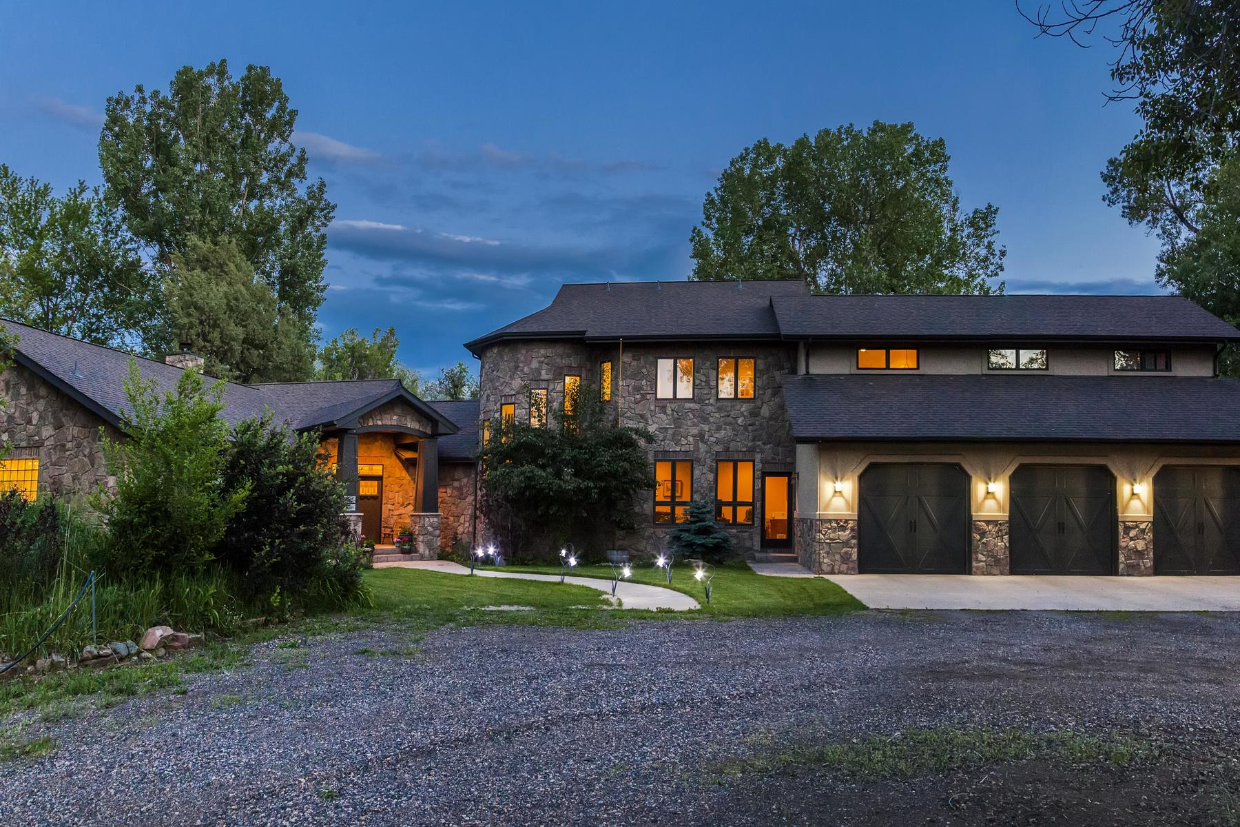 Single Family Home for Active at Riverfront Estate 2422 Black Crow Ln Loveland, Colorado 80537 United States