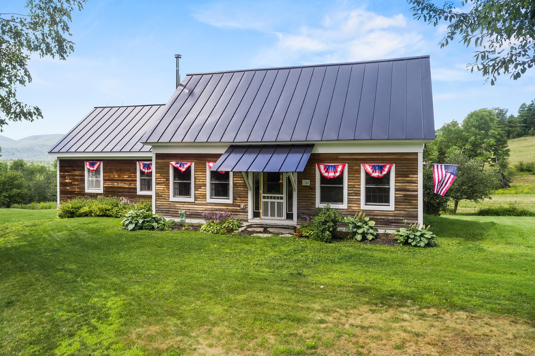 Single Family Homes for Sale at Three Bedroom Cape in West Braintree 745 Connecticut Corners Braintree, Vermont 05669 United States