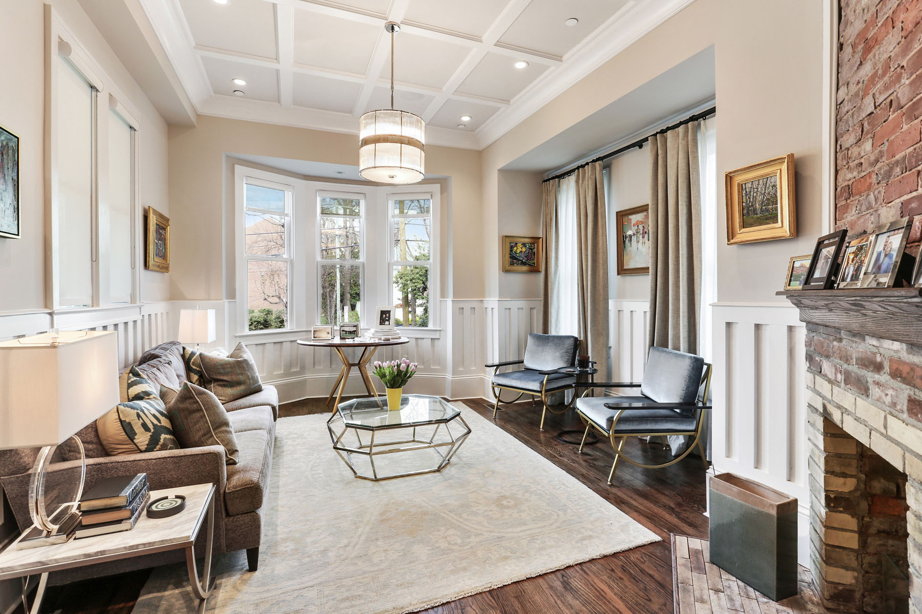 Townhouse for Sale at Stunning Colonial Townhouse in Prime Midtown Location 785 Piedmont Ave NE Unit A Atlanta, Georgia, 30308 United States