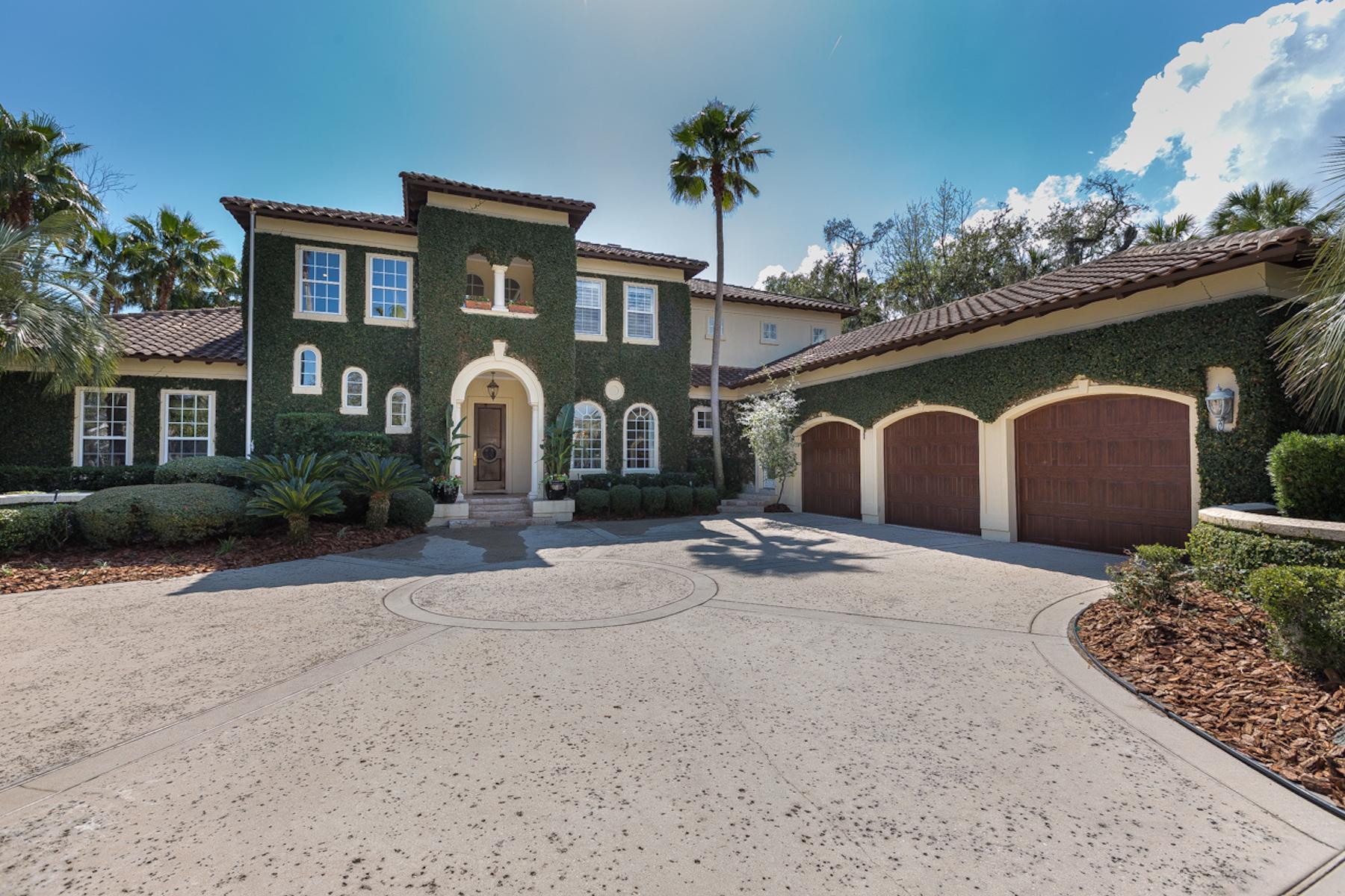 Casa para uma família para Venda às Stunning Marsh Landing Country Club Home 129 Kingfisher Drive Ponte Vedra Beach, Florida, 32082 Estados Unidos
