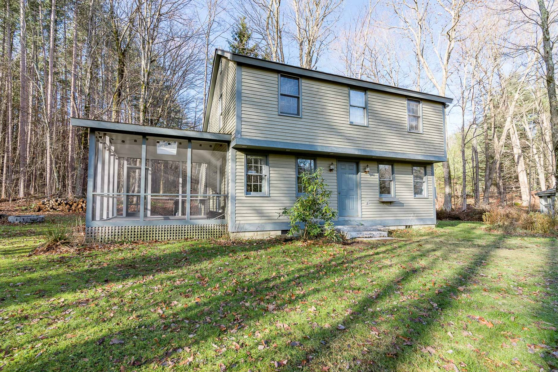Single Family Home for Sale at Fieldstone Fireplace and Screened in Porch 1678 Old West Arlington, Vermont 05250 United States