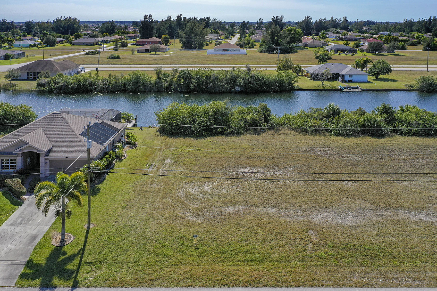 Land for Sale at CAPE CORAL 2612 NW 14th Terrace, Cape Coral, Florida 33993 United States