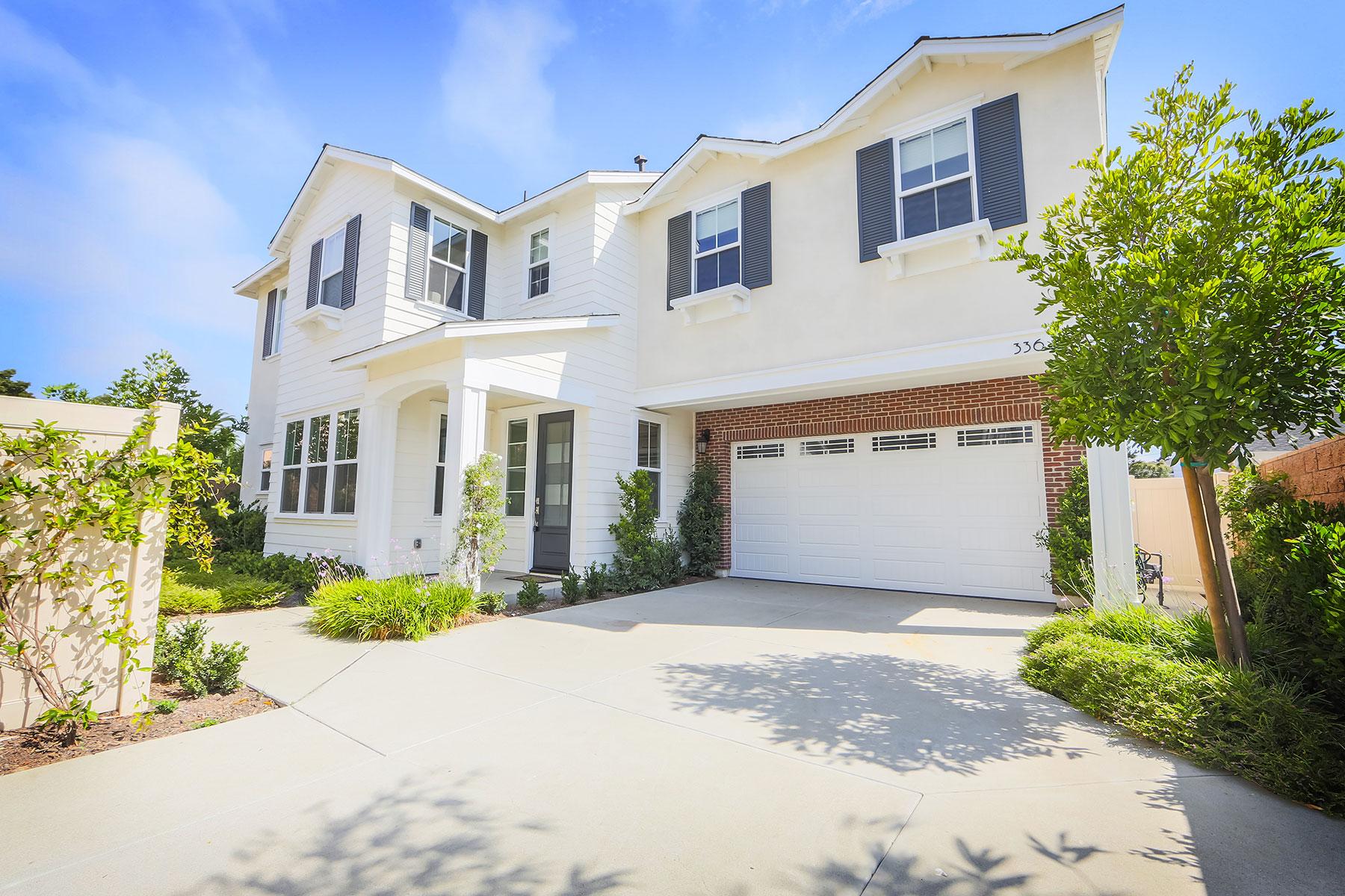 Частный односемейный дом для того Продажа на 336 E 16th Street Costa Mesa, Калифорния 92627 Соединенные Штаты