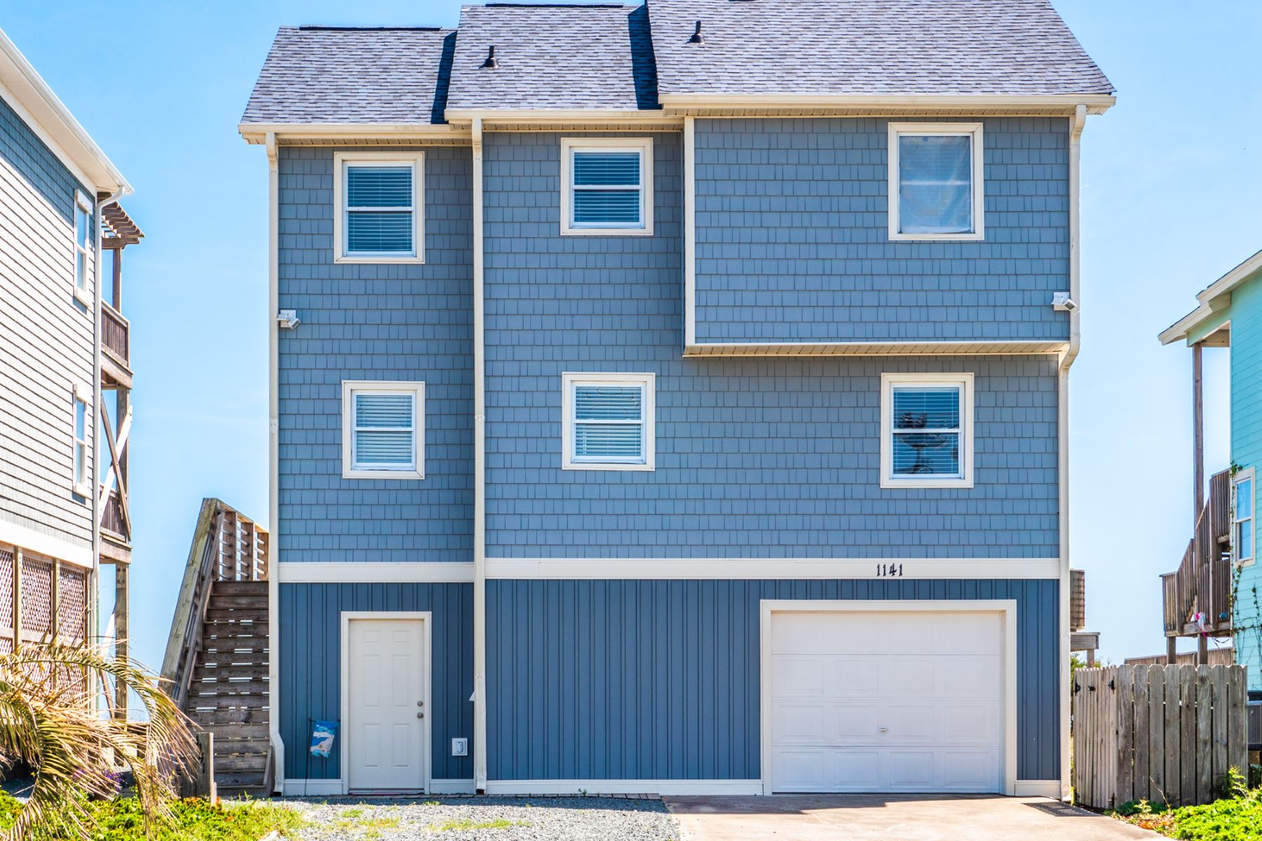 Single Family Home for Active at Freshly Decorated Oceanfront Home 1141 N Anderson Boulevard Topsail Beach, North Carolina 28445 United States
