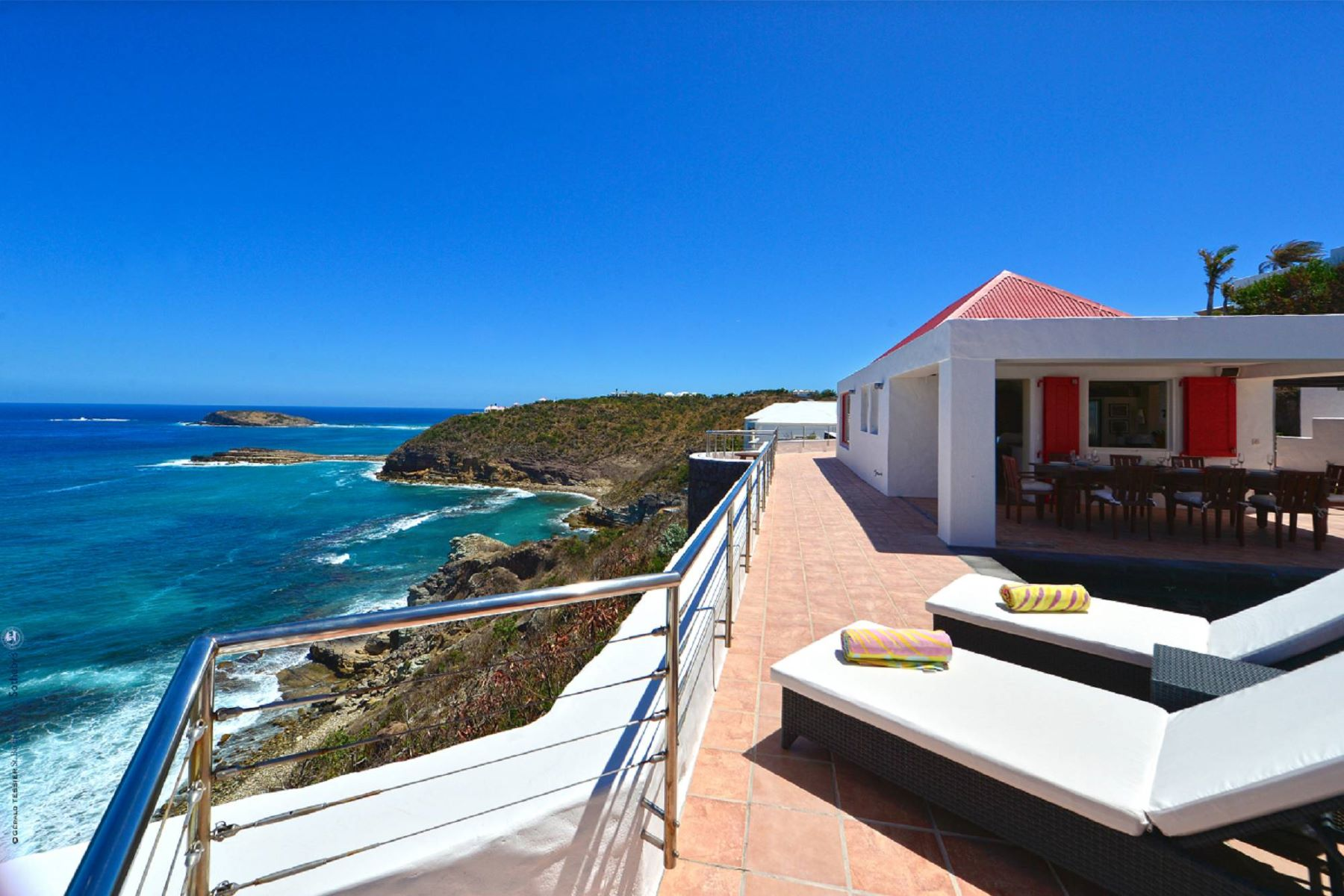Single Family Homes for Sale at Villa Henri Bay Pointe Milou Other St. Barthelemy, Cities In St. Barthelemy 97133 St. Barthelemy