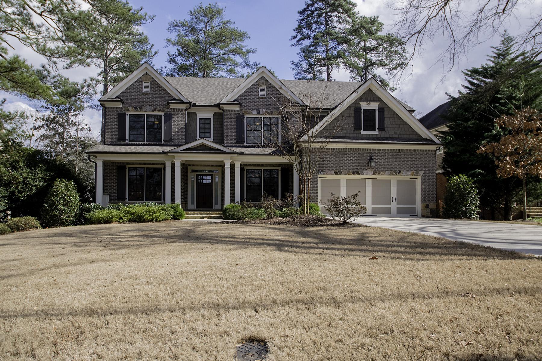 Single Family Home for Sale at TranquilityinBrookhaven'sDesiredAshfordPark 2721 Caldwell Rd Brookhaven, Georgia 30319 United States