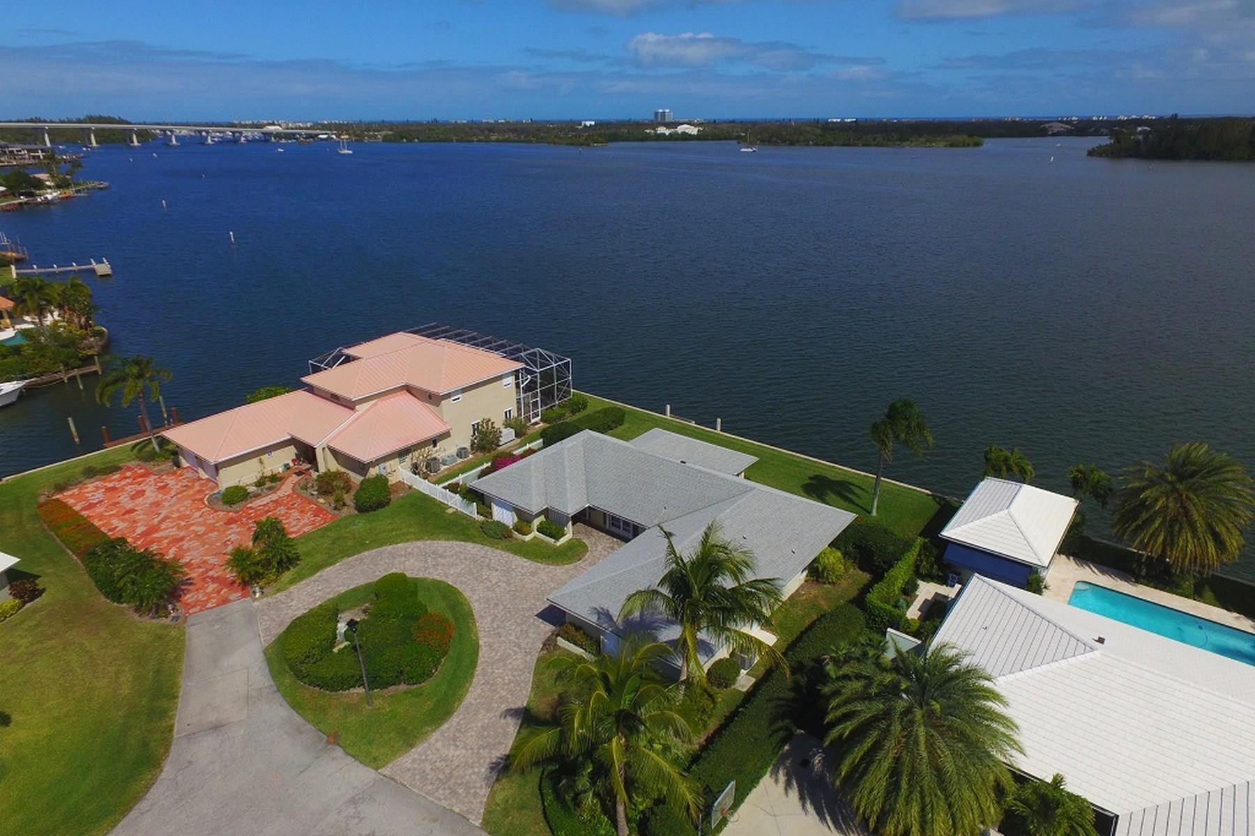 Casa para uma família para Venda às Looking for the Perfect Address w/ a Perfect View? 1 Sea Horse Lane Vero Beach, Florida, 32960 Estados Unidos