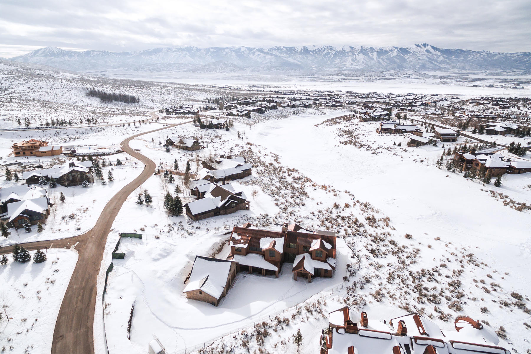 Single Family Homes for Sale at Modern and Timeless with Golf and Ski Views 3351 E Westview Trail Park City, Utah 84098 United States