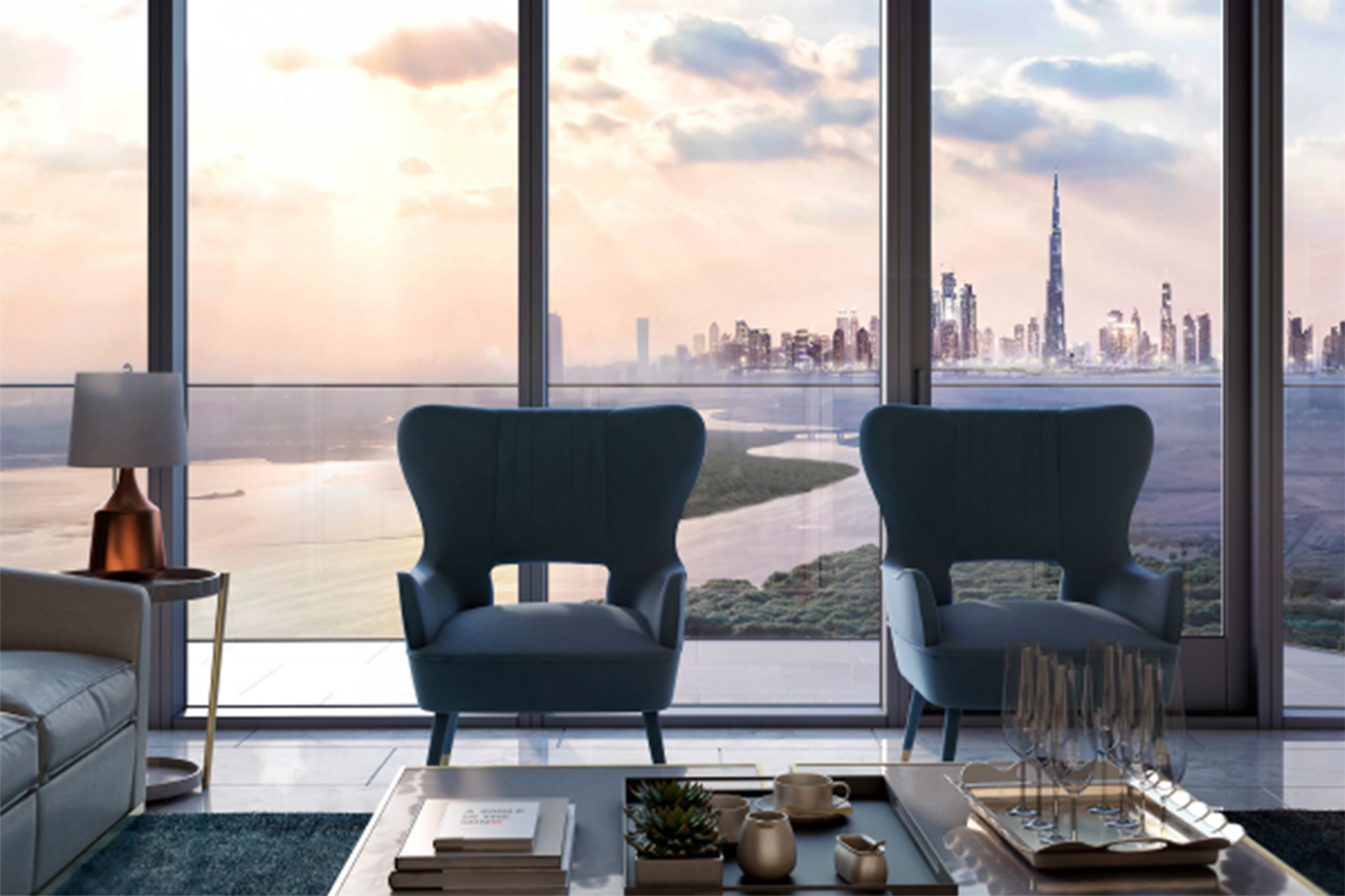 Apartment for Sale at New Address Harbour Point 3BR Downtown Skyline Views Dubai Creek Harbour Address Harbour Point, Dubai, 00000 United Arab Emirates
