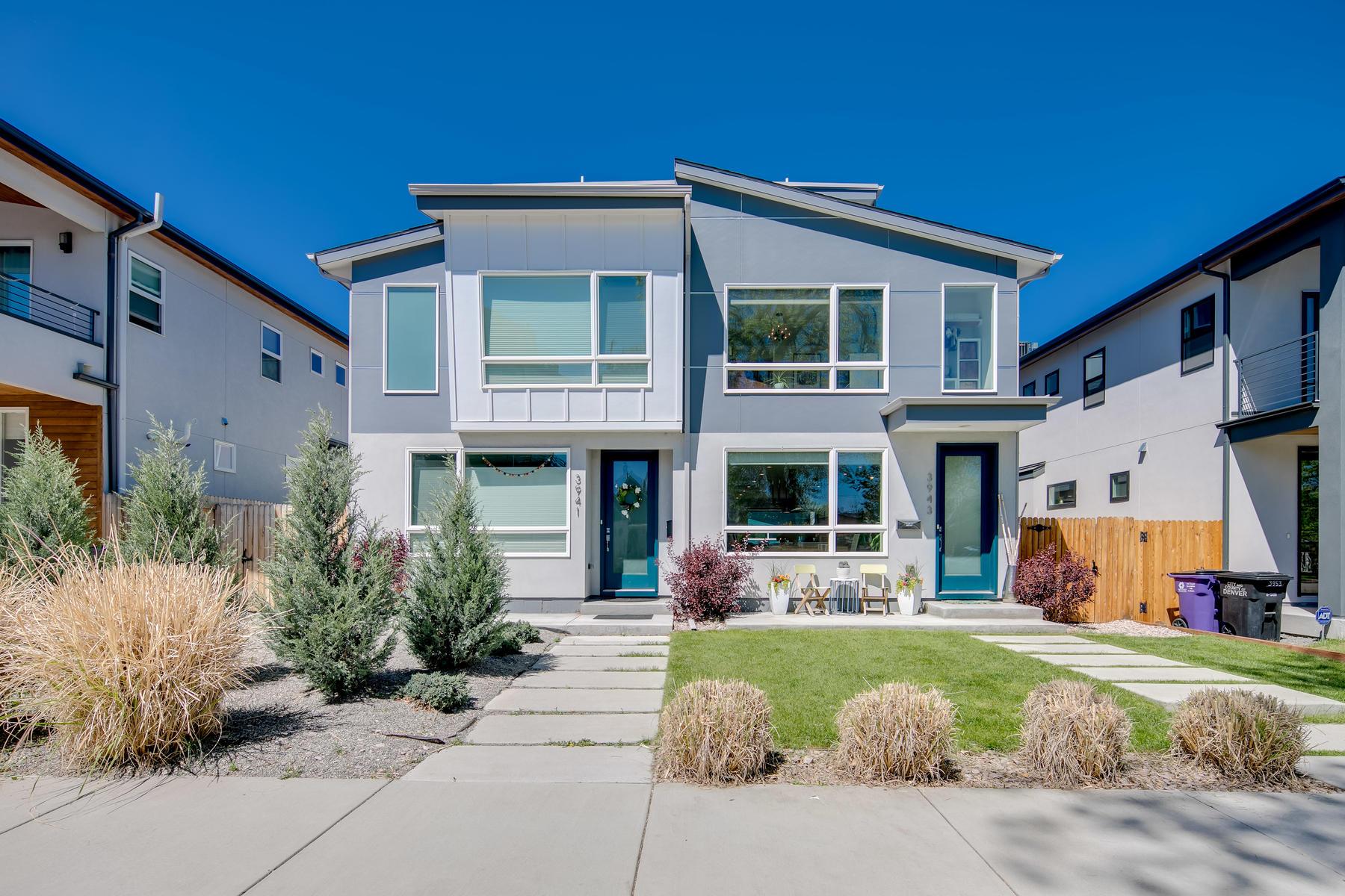 Single Family Home for Active at 3943 Utica Street 3943 Utica Street Denver, Colorado 80212 United States