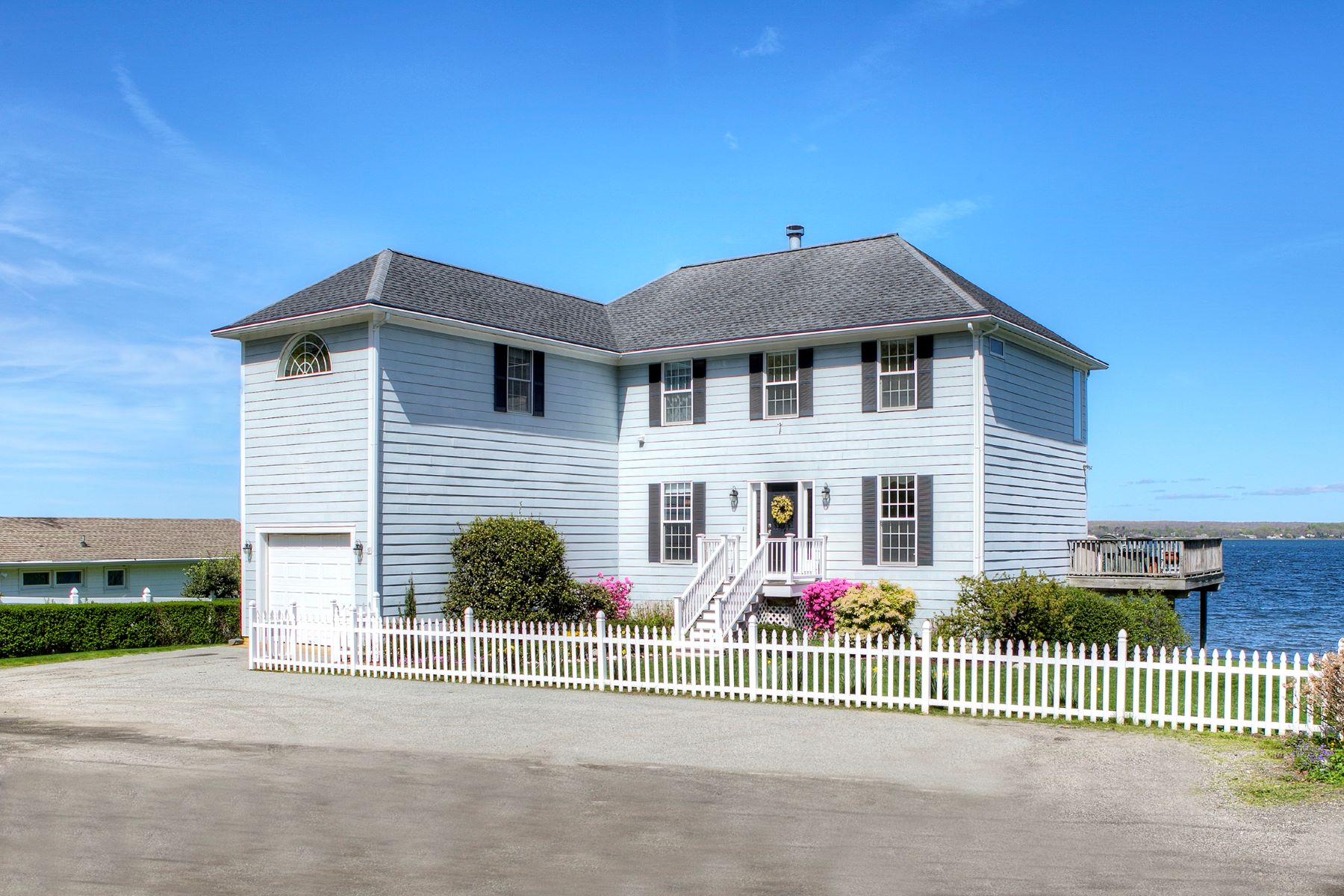 single family homes for Sale at Sakonnet Waterfront 39 Bayside Avenue, Portsmouth, Rhode Island 02871 United States