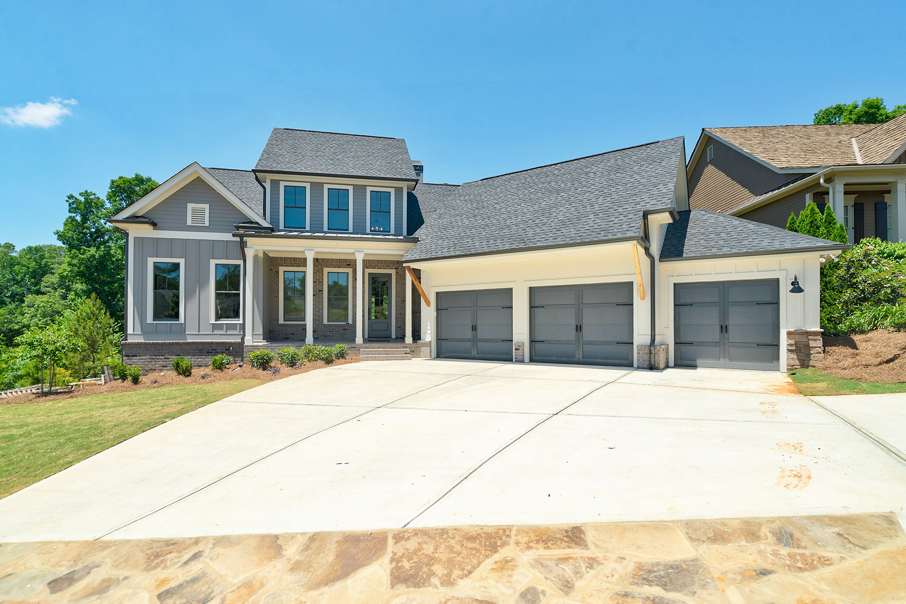 Single Family Homes for Active at Modern Farmhouse On The Golf Course In Chestatee 142 Blue Heron Bluff Dawsonville, Georgia 30534 United States