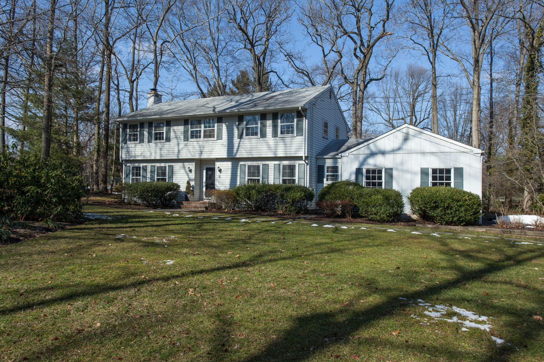 Single Family Home for Sale at Pine Knoll Colonial 6 Balsam Court, Lawrenceville, New Jersey 08648 United StatesMunicipality: Lawrence Township
