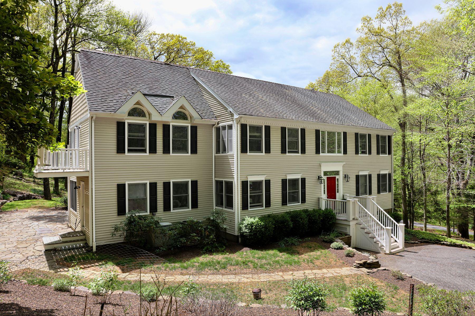 Частный односемейный дом для того Продажа на A Must-See Custom Home In A Bucolic Setting - Delaware Township 62 Brookville Hollow Road Stockton, 08559 Соединенные Штаты