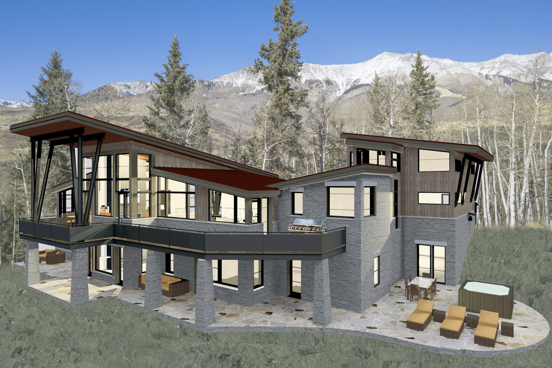 Single Family Homes for Sale at 105 Lawson Overlook Mountain Village, Colorado 81435 United States