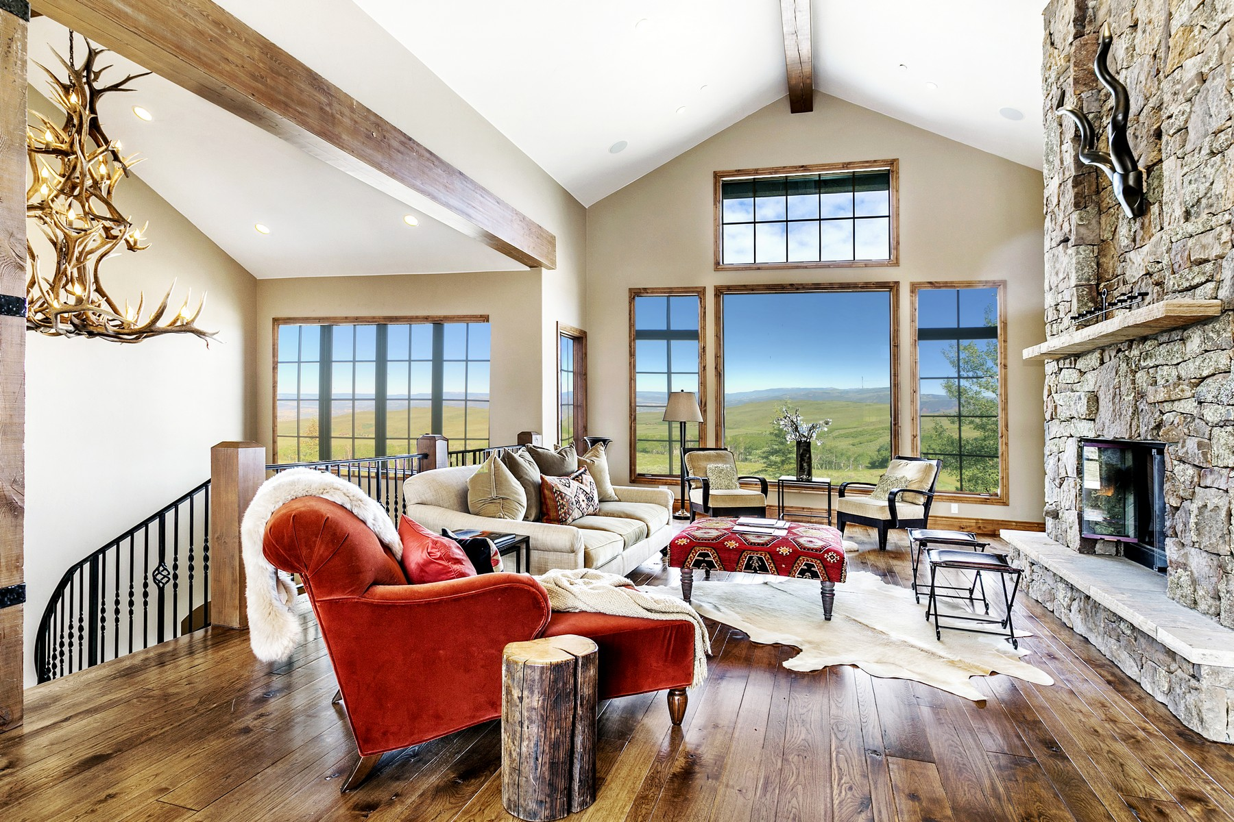 Single Family Home for Active at Summit Golf Course custom home in Cordillera on the 8th hole. 1117 Summit Trail Edwards, Colorado 81632 United States