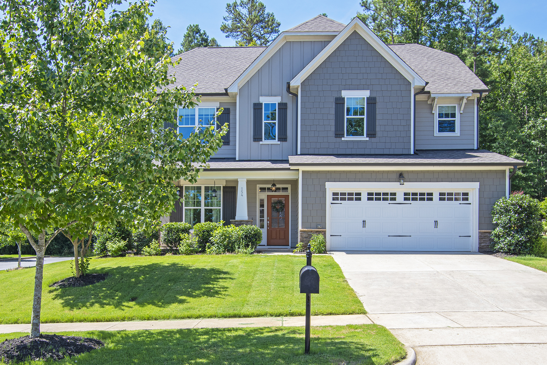 Single Family Homes for Sale at Exquisite three-story home within sought-after Powell Place in Pittsboro 154 S. Freeman Drive Pittsboro, North Carolina 27312 United States