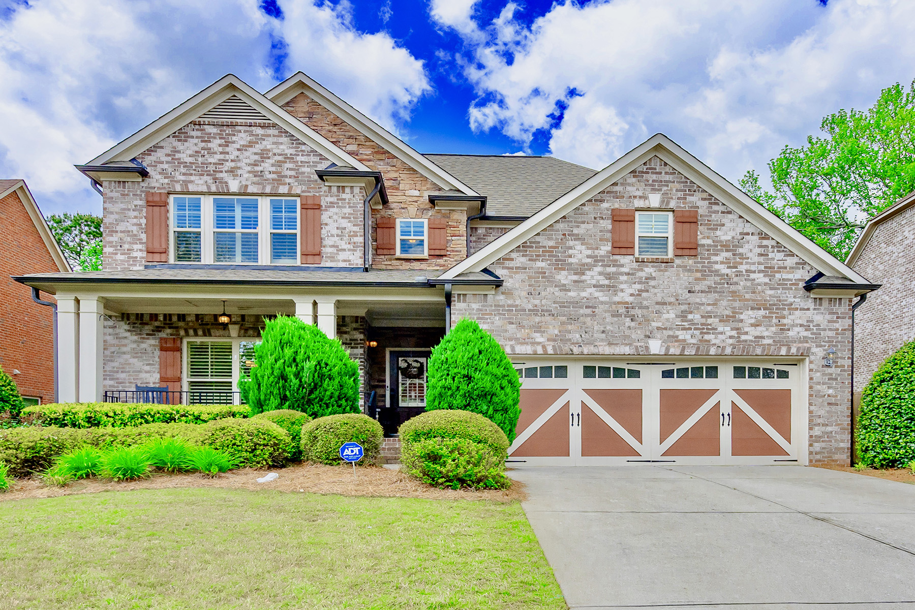 Single Family Homes for Sale at Picture Perfect Gated Craftsman Home in Top School District 3170 Stonecrest Dr Cumming, Georgia 30041 United States