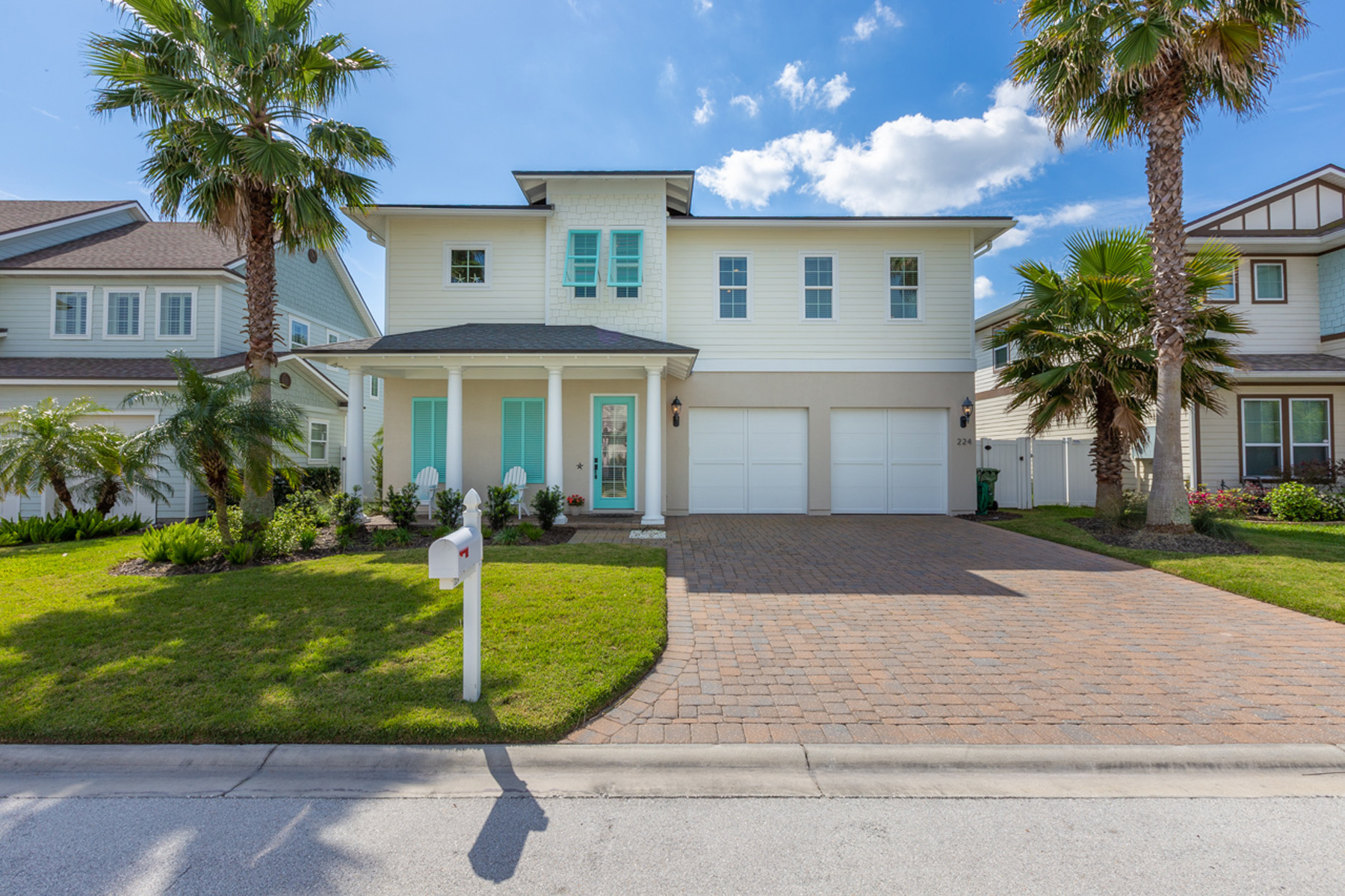 Single Family Homes for Sale at St Johns Floor Plan 224 39th Avenue South Jacksonville Beach, Florida 32250 United States