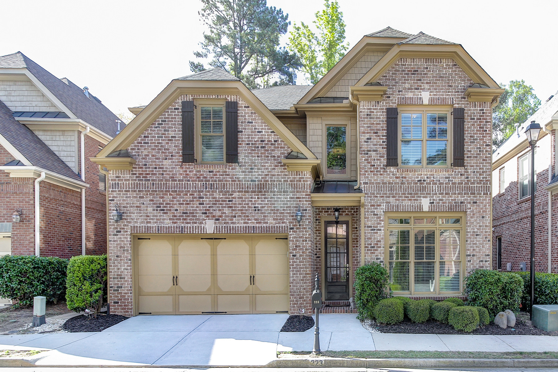 Single Family Home for Sale at Amazing Location In Heart Of Sandy Springs 223 Mount Vernon Cv Atlanta, Georgia, 30328 United States