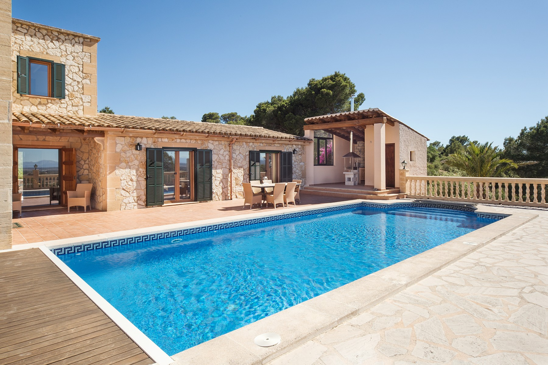 Single Family Home for Sale at Delightful country estate with panoramic views Felanitx, Balearic Islands Spain