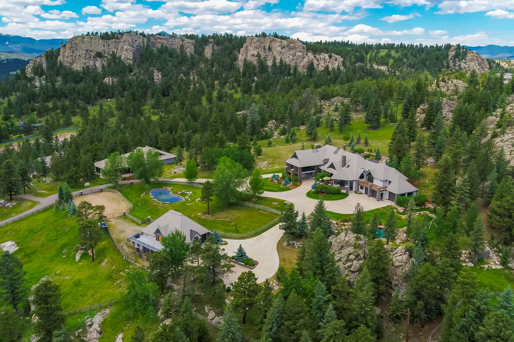 Single Family Homes for Active at This Luxurious Estate is More of a Lifestyle Choice, 6917 Timbers Drive Evergreen, Colorado 80439 United States
