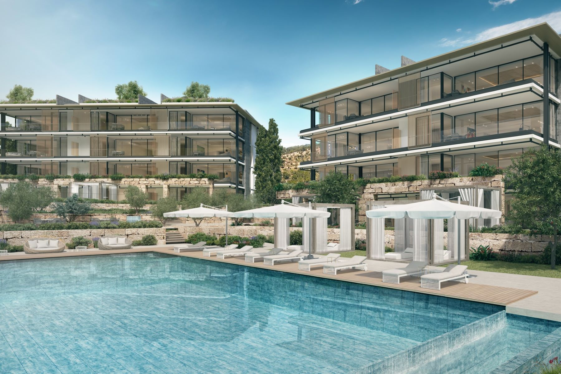 Single Family Home for Sale at New penthouses with swimming pools luxury resort Other Balearic Islands, Balearic Islands, Spain