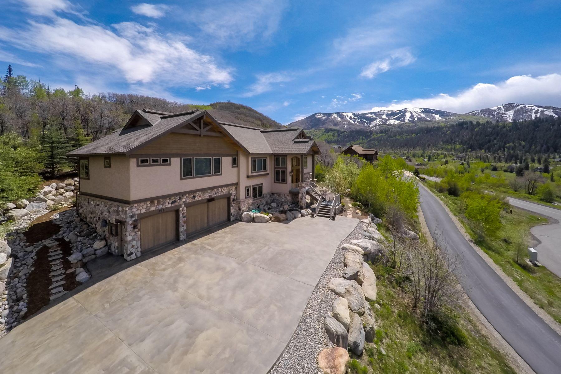 Maison unifamiliale pour l Vente à Sanctuary 598 Forest View Dr. Steamboat Springs, Colorado, 80487 États-Unis