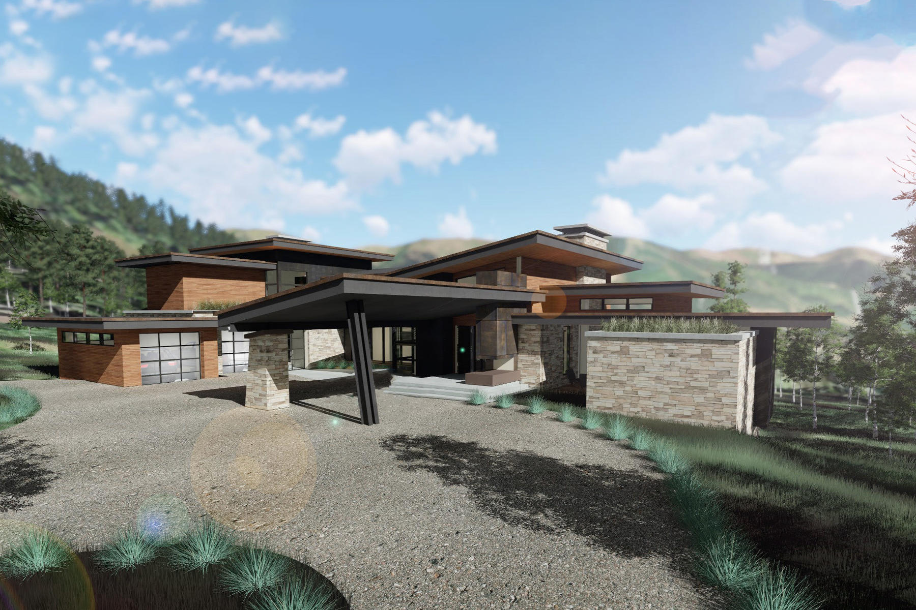 Single Family Homes for Active at New Construction In The Colony 251 White Pine Canyon Rd Park City, Utah 84060 United States