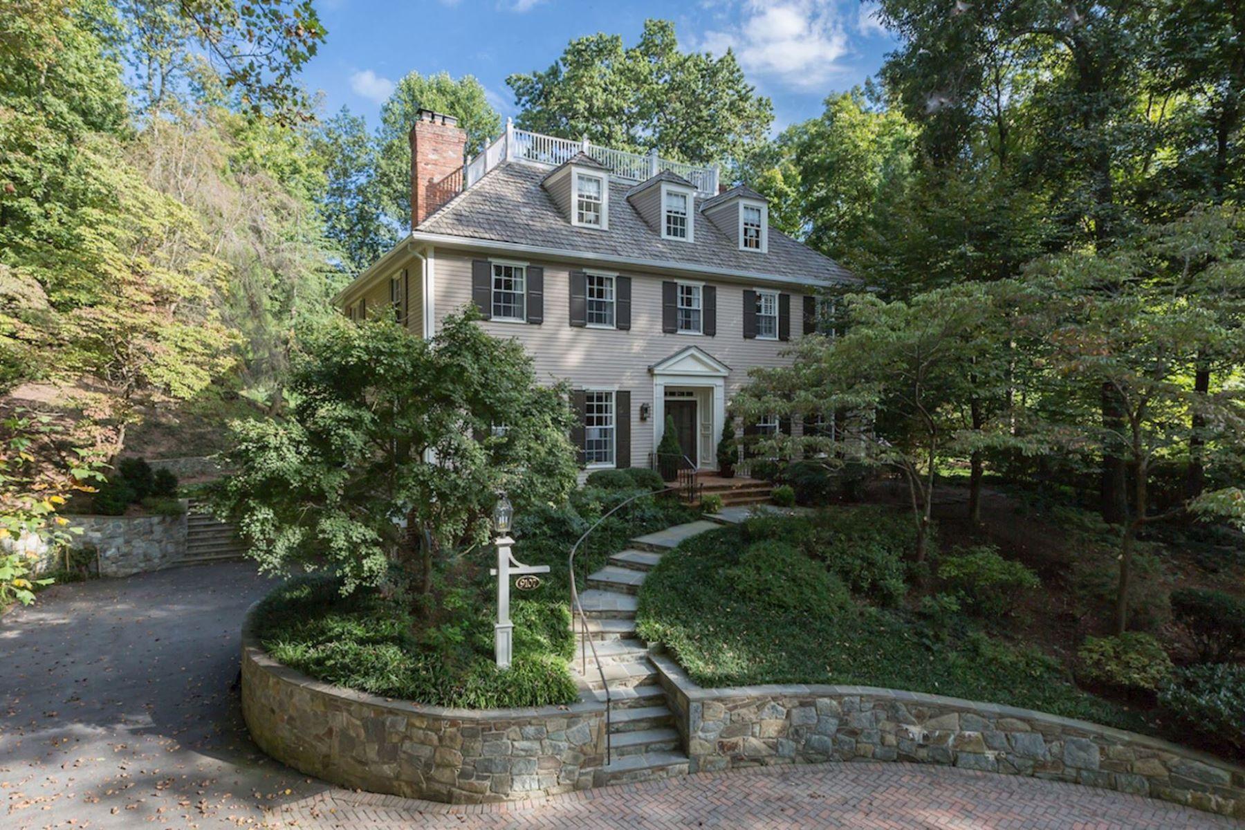 Casa para uma família para Venda às 9107 North Branch Drive, Bethesda Bethesda, Maryland, 20817 Estados Unidos