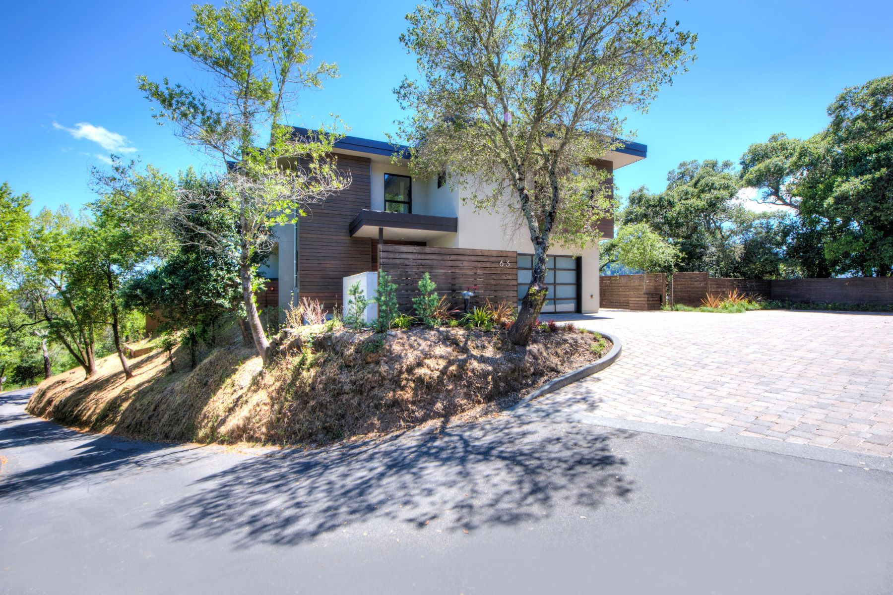 獨棟家庭住宅 為 出售 在 Modern Perfection in Ross 63 Monte Alegre Road Ross, 加利福尼亞州, 94957 美國