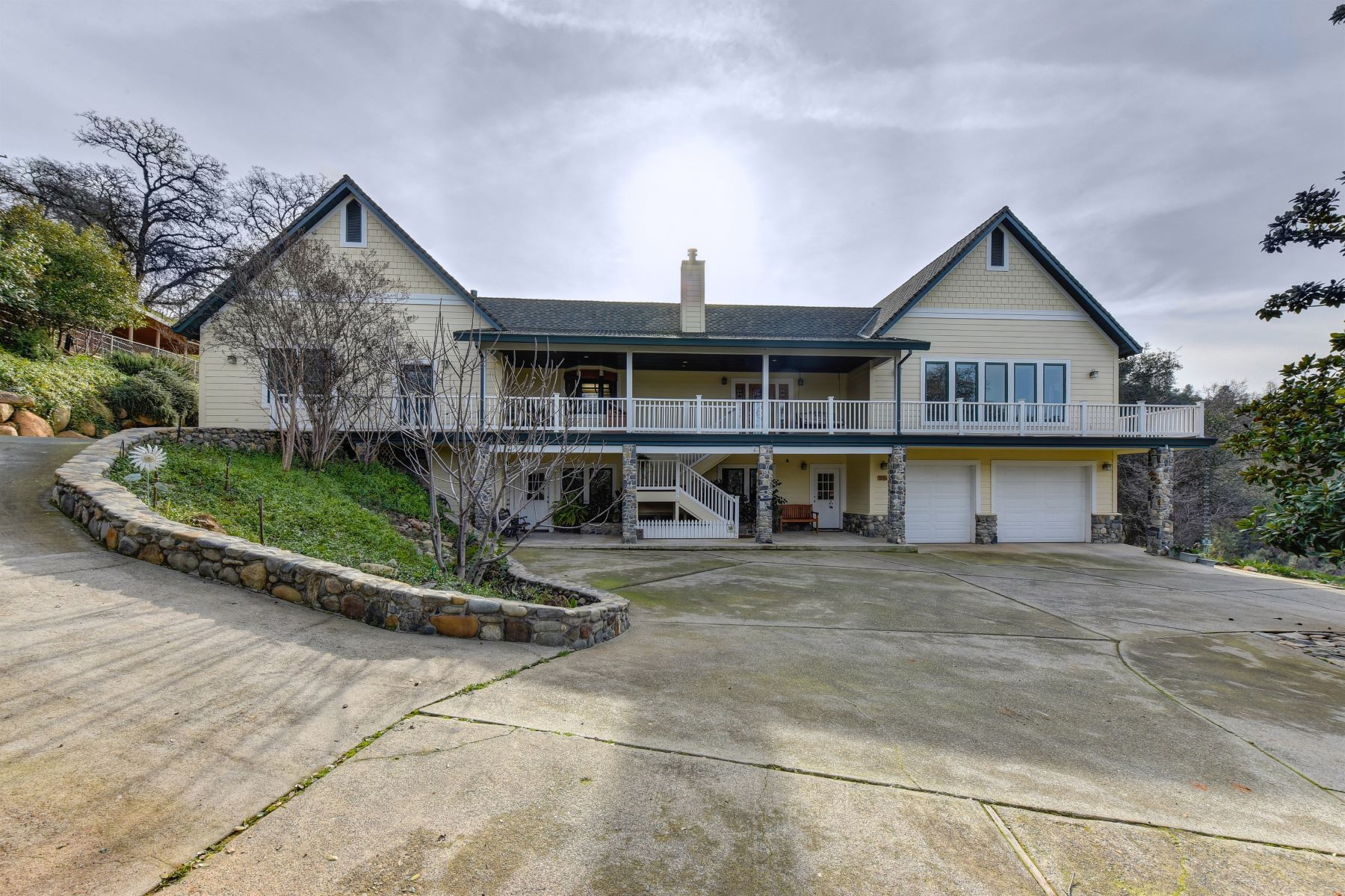 Single Family Home for Active at Custom Home with 1000 sq ft of South Fork American River Frontage and 33 acres 1212 Serenity Ln Coloma, California 95613 United States