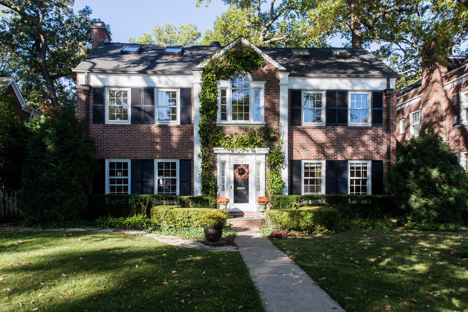 Single Family Home for Sale at Outstanding Three Story Colonial 2326 Central Park Avenue, Evanston, Illinois, 60201 United States