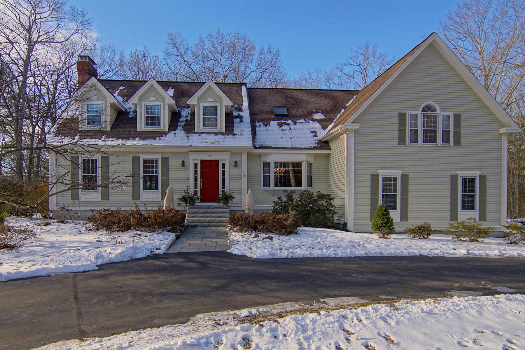 Single Family Home for Sale at Private Setting Close to Beaches and Walking Trails 21 Rockrimmon Road North Hampton, New Hampshire 03862 United States