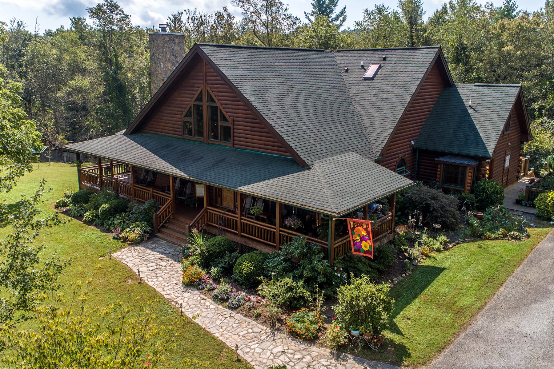 Single Family Home for Active at GLADE VALLEY 330 Shaw Lane Glade Valley, North Carolina 28627 United States