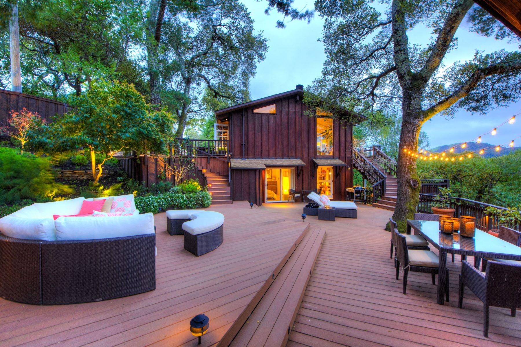 Casa para uma família para Venda às Vacation While at Home 40 Crest Avenue San Anselmo, Califórnia, 94960 Estados Unidos