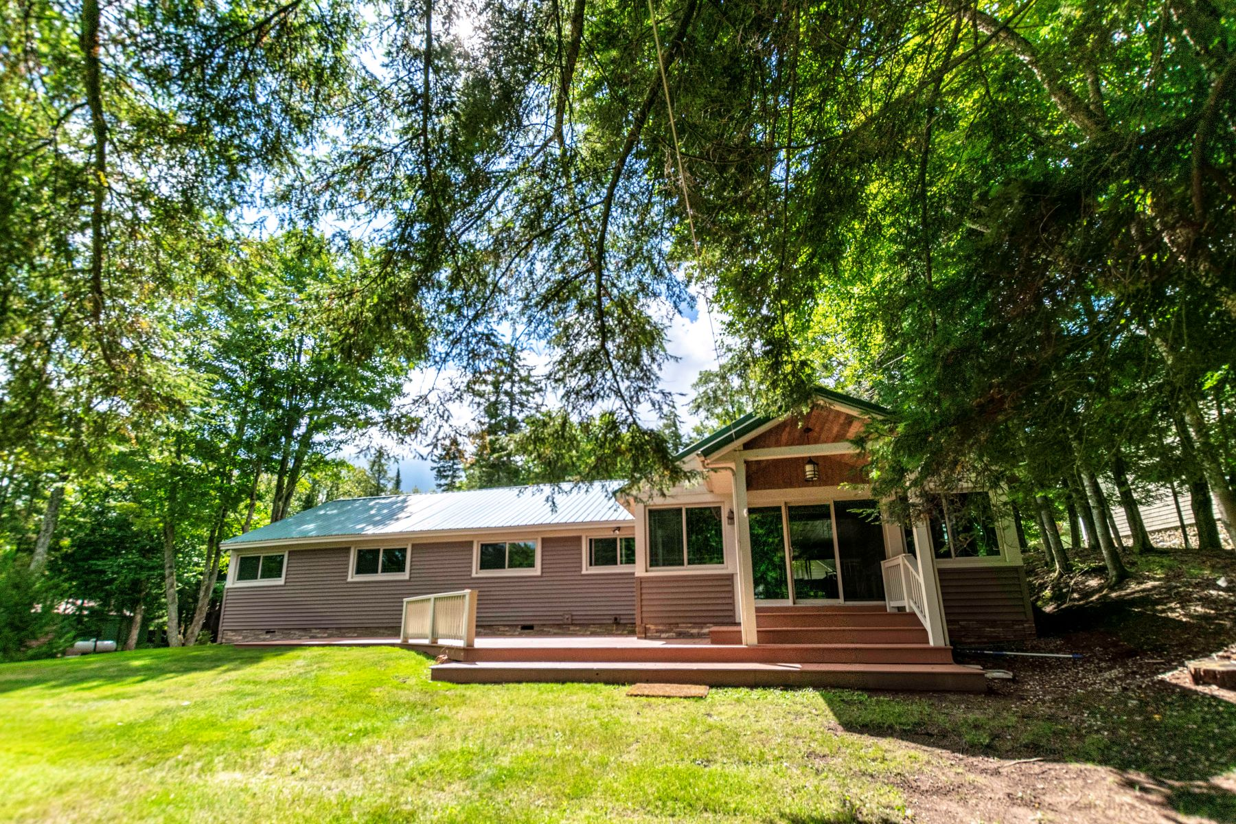 Single Family Homes for Active at Beautiful Waterfront Ranch Style Home 132 Creekside Lane Old Forge, New York 13420 United States