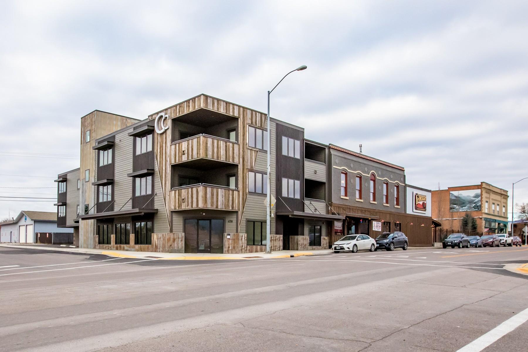 Condominiums 为 销售 在 638 Nucleus Avenue , #304 哥伦比亚瀑布, 蒙大拿州 59912 美国
