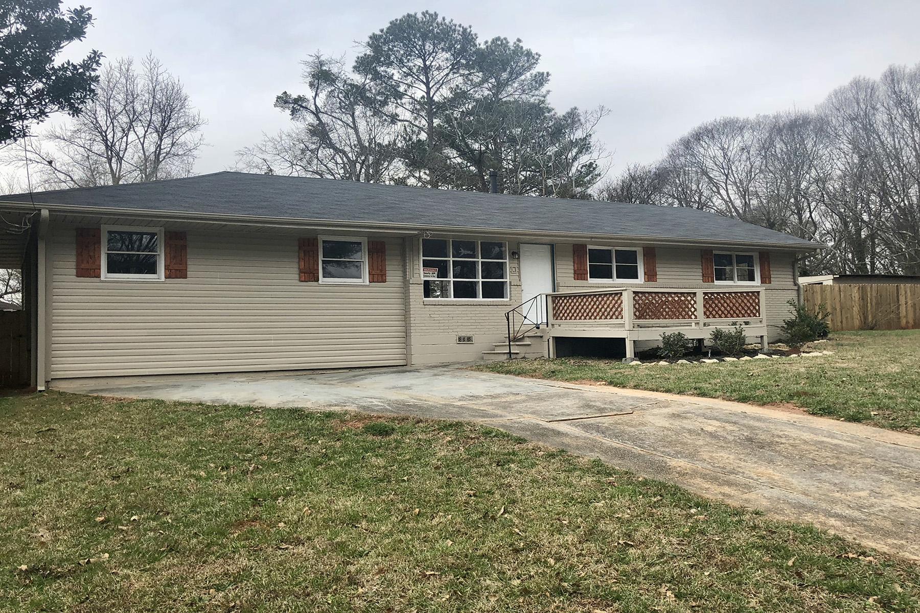 Частный односемейный дом для того Аренда на Spacious and Beautiful Rental 1735 W Austin Road, Decatur, Джорджия, 30032 Соединенные Штаты