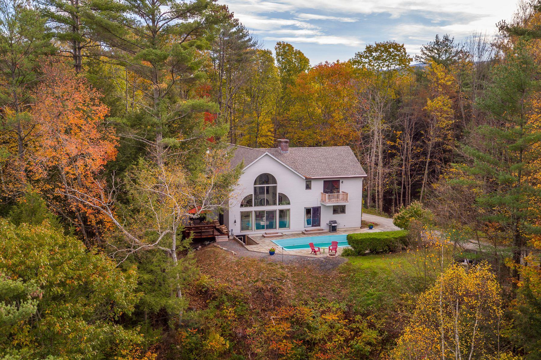 Maison unifamiliale pour l Vente à Contemporary with River Views 6 Grant, Hanover, New Hampshire, 03755 États-Unis