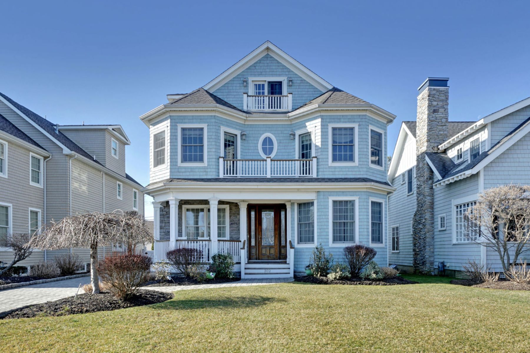 Maison unifamiliale pour l Vente à Office Exclusive 302 Beacon Boulevard, Sea Girt, New Jersey 08750 États-Unis