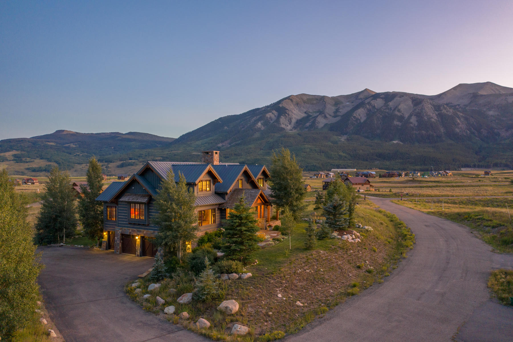 Single Family Homes for Sale at Immaculate Home with Spectacular Views 33 Buckhorn Way Crested Butte, Colorado 81224 United States