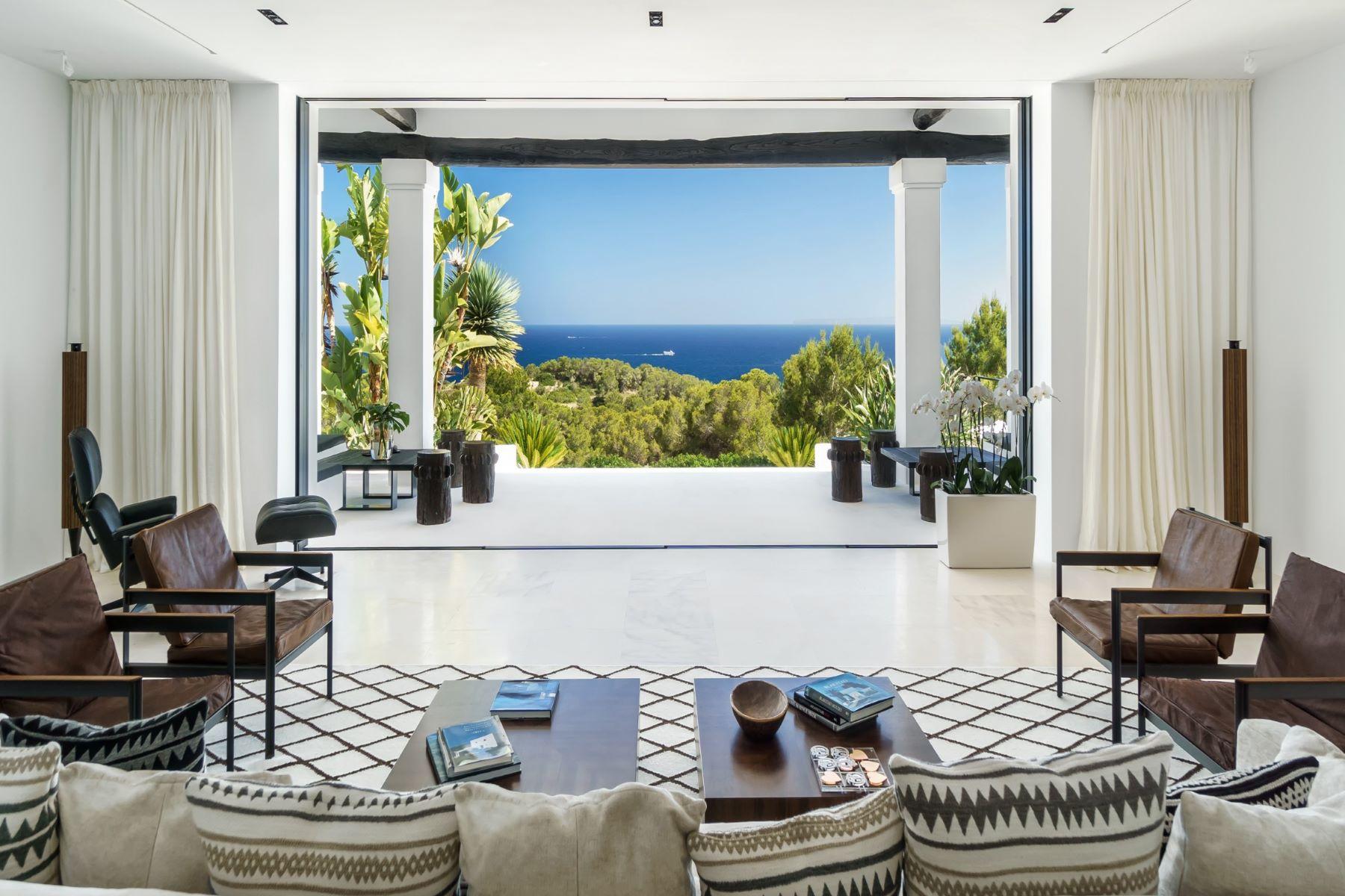 Single Family Home for Rent at Stunning-sea-view-villa-close-to-ibiza-town Ibiza, Ibiza 07800 Spain