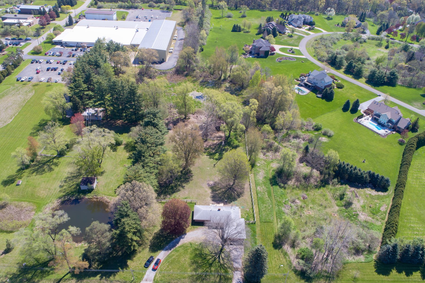 Single Family Homes for Active at 2345 S Milford Milford Twp, Michigan 48381 United States