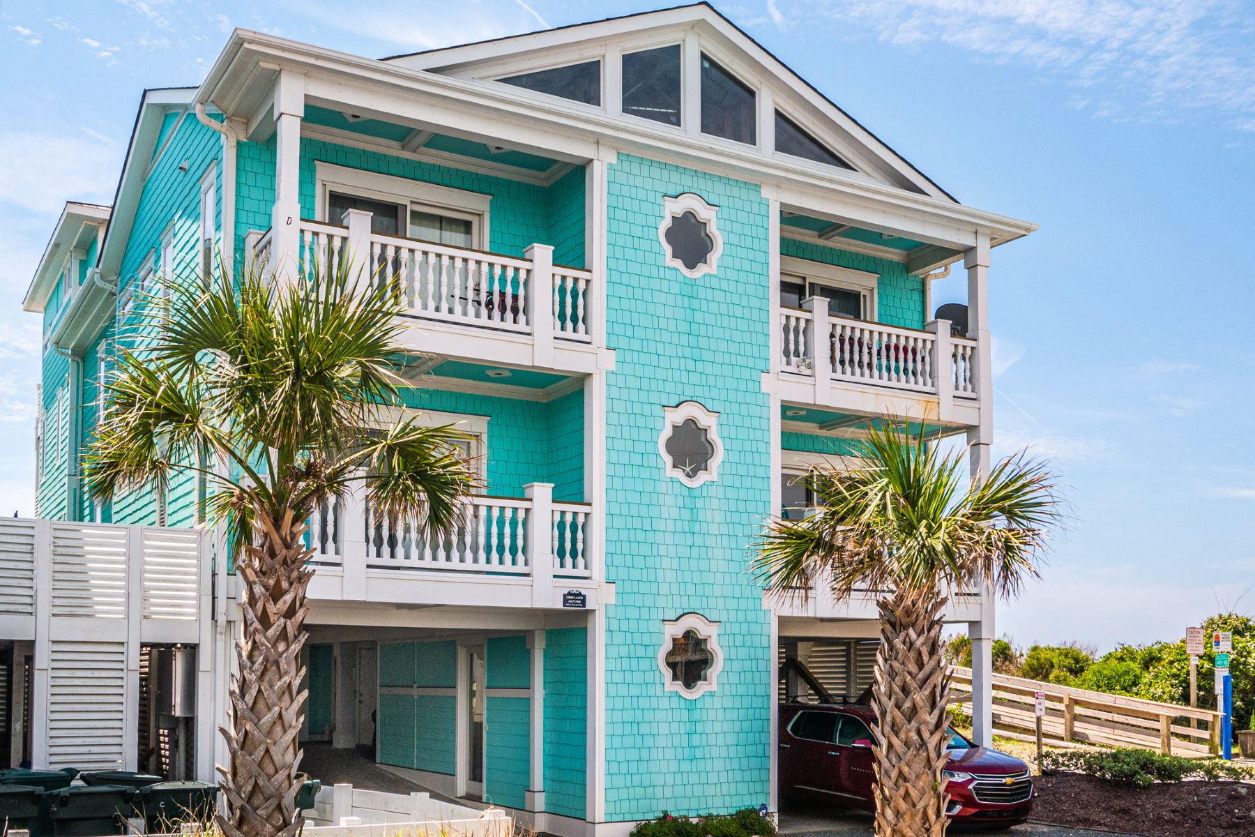 Condominiums for Sale at Fantastic Ocean View Condo on Topsail Island 819C Ocean Boulevard Topsail Beach, North Carolina 28445 United States