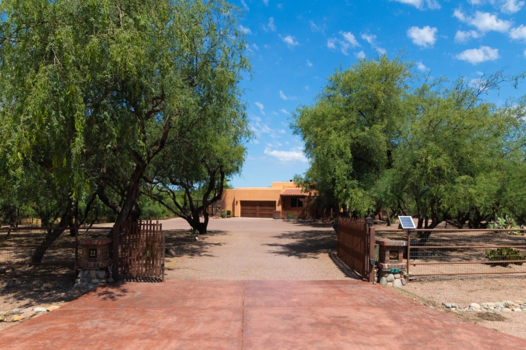 Single Family Homes for Active at Find Privacy and Tranquility on the 4.3 Acre Rare Gated Horse Property 22 Rancho Del Rio Court Rio Rico, Arizona 85648 United States