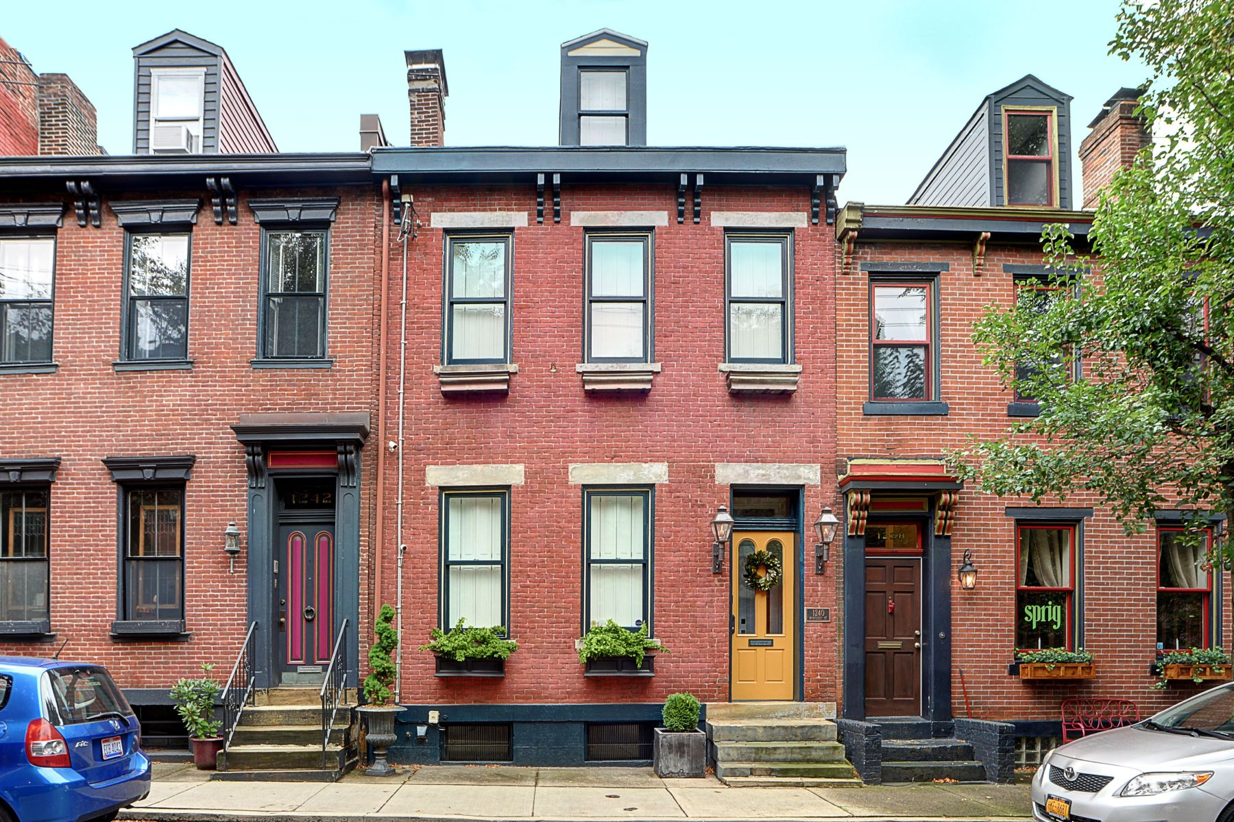 Single Family Homes for Sale at Mexican War Streets Renovation at 1240 Monterey 1240 Monterey St, Pittsburgh, Pennsylvania 15212 United States